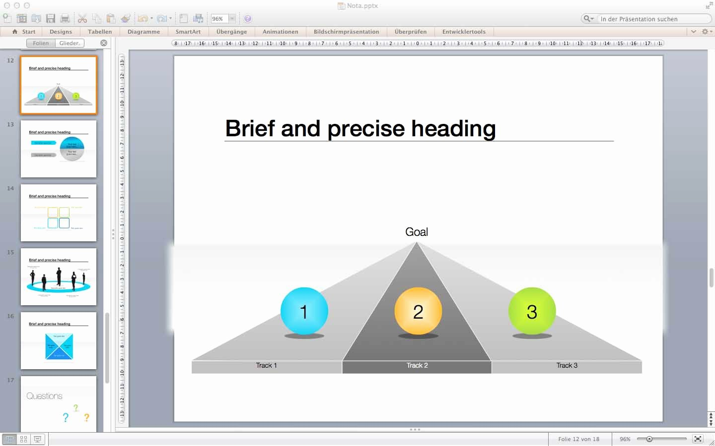 Templates for Powerpoint for Mac