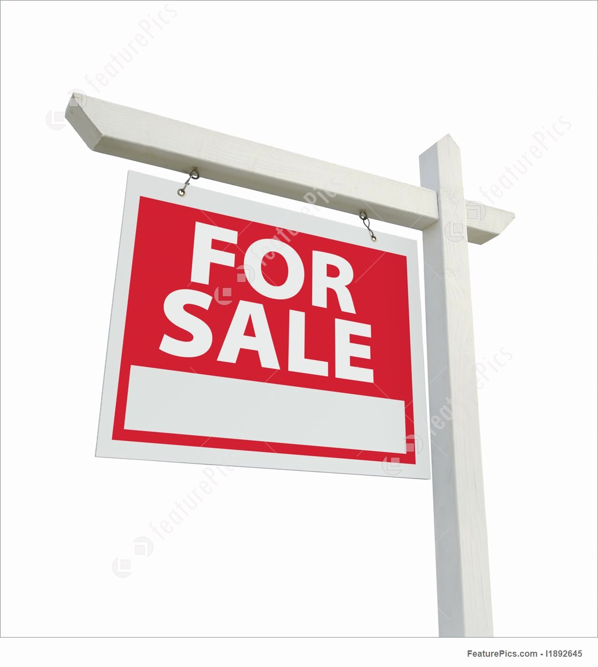 Templates for Sale Real Estate Sign Stock Image