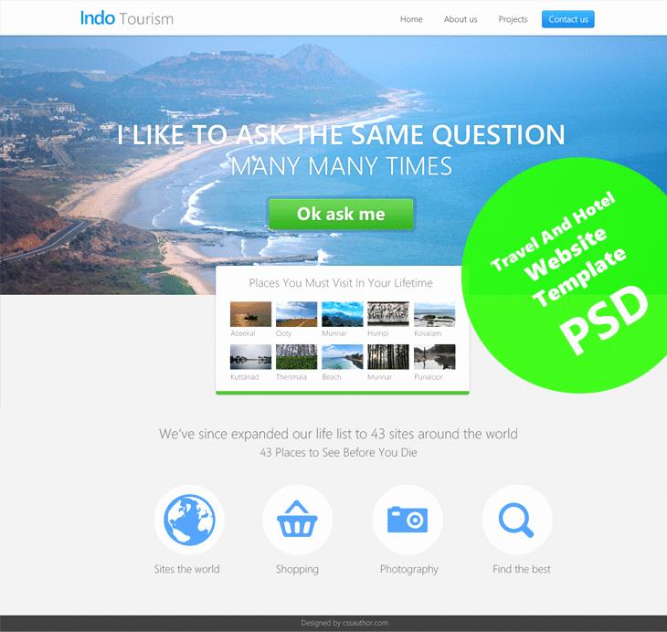 Templates for Website Design Free Download