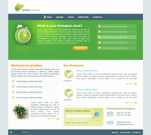 Templates for Website Free Download In HTML Css
