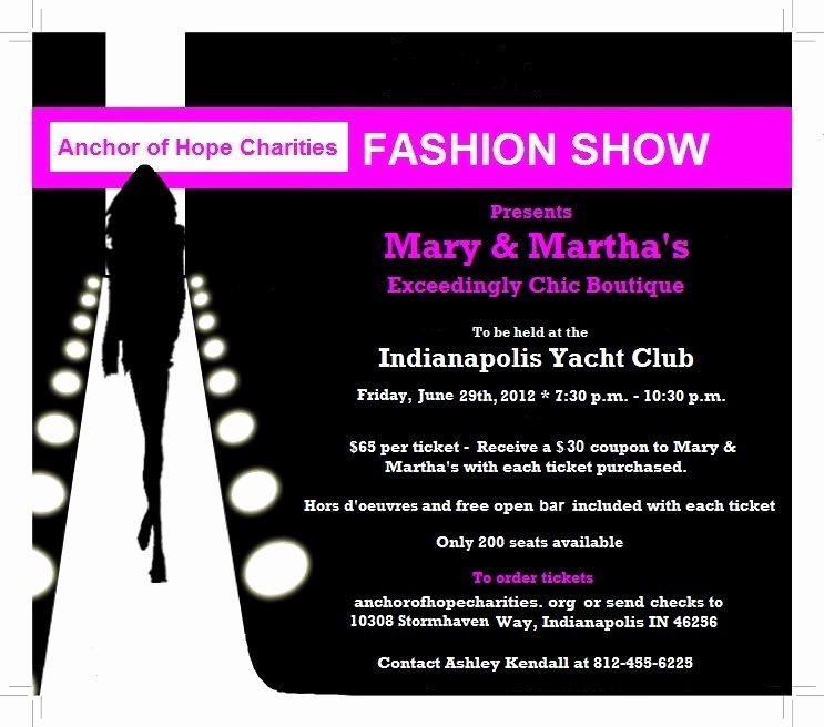 Templates Free Fashion Show Fundraiser Poster Templates