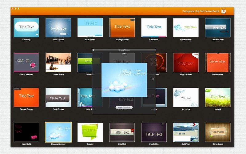 Templates Powerpoint Para Mac Ppt Templates for Mac