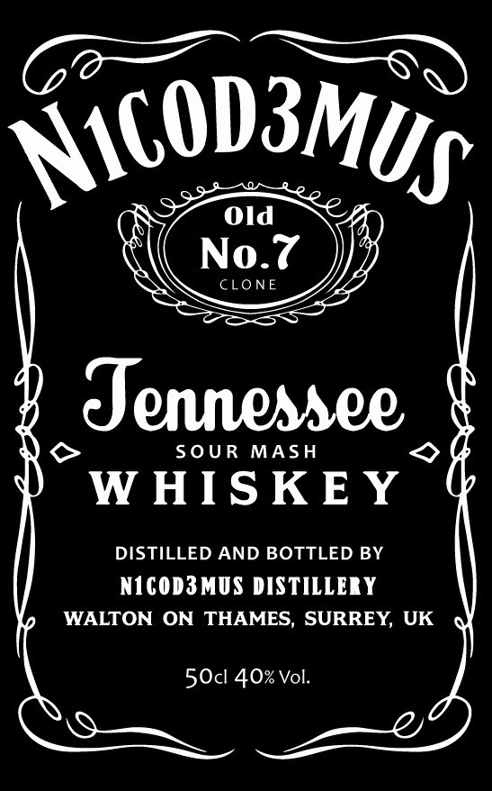 Tennessee Whiskey Bourbon Jack Daniels 13