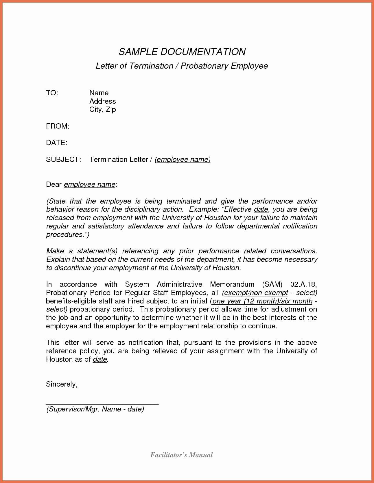 Termination Employment Template Portablegasgrillweber