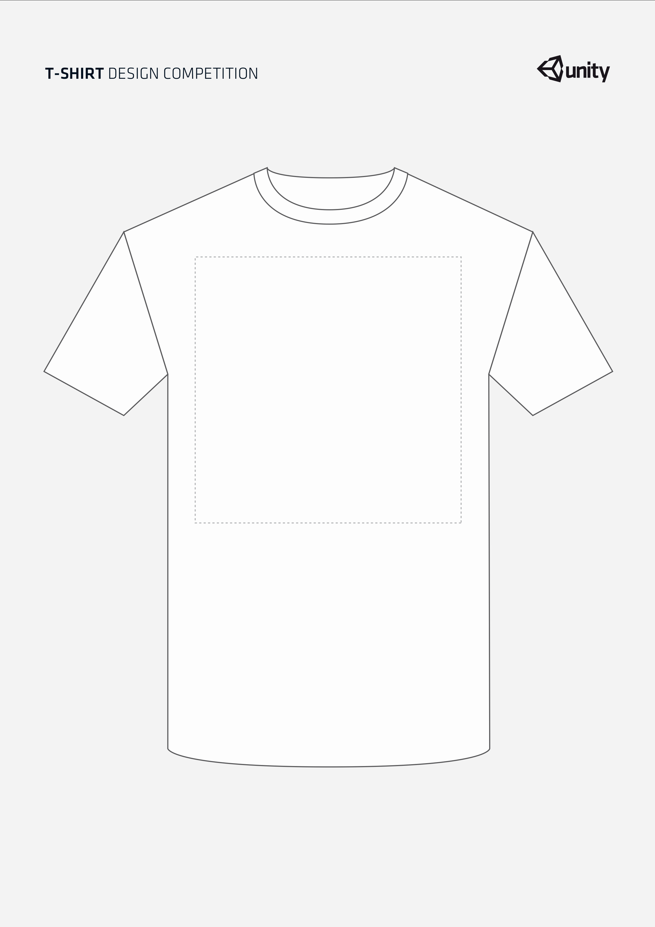 Terms and Conditions T Shirt Design Contest Unity