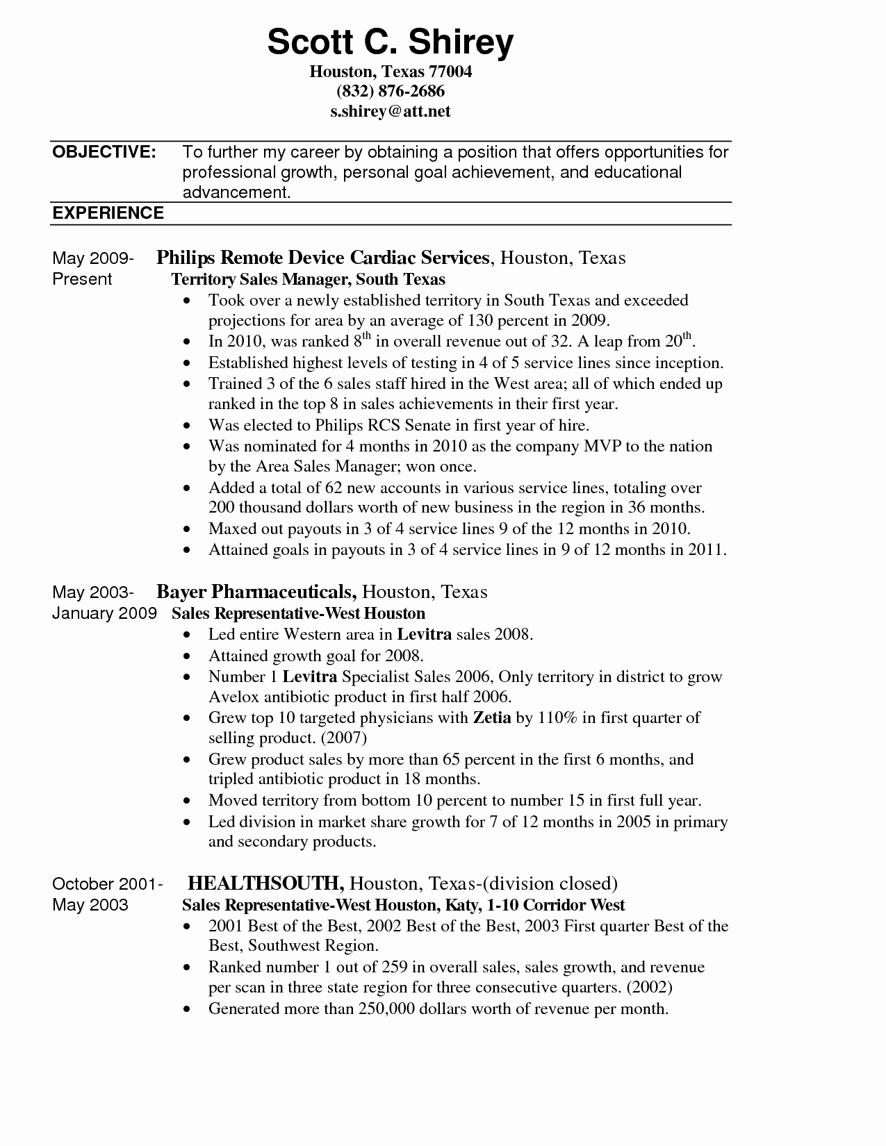 Territory Sales Manager Resume Sample Resume Ideas