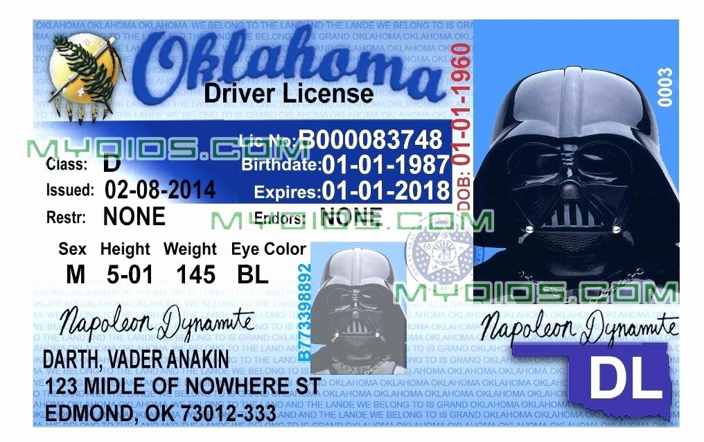 Texas Id Card Template State Templates north