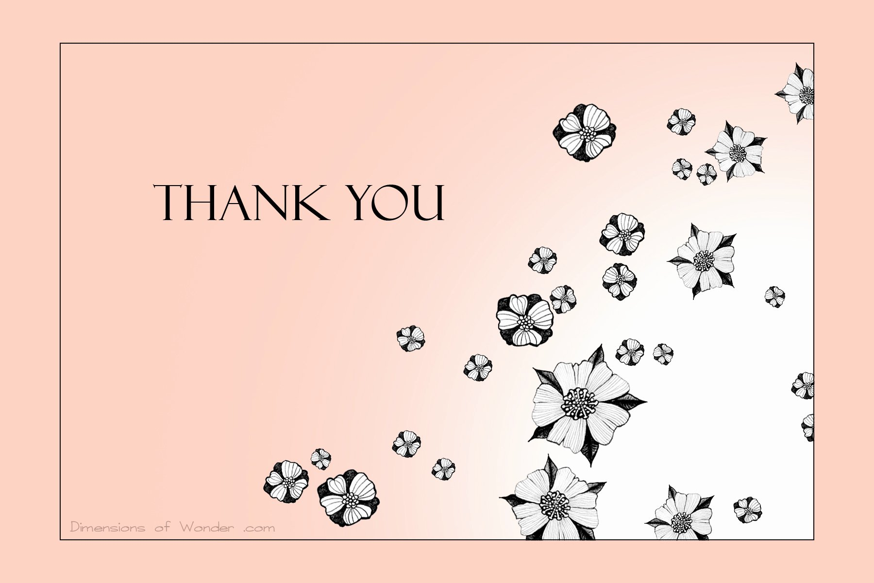 Thank You Card Template for Word Portablegasgrillweber