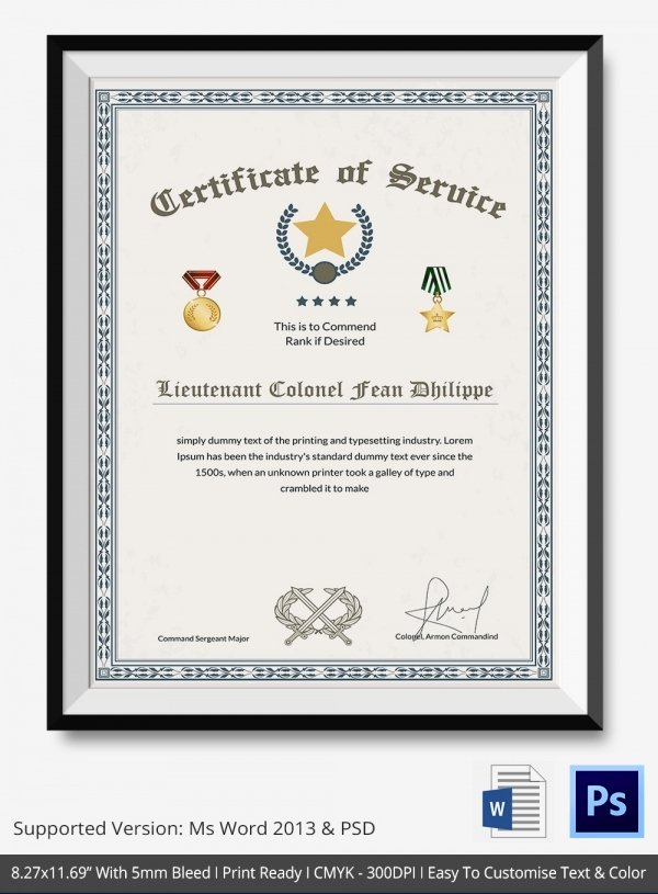 Thank You Certificate Template 10 Free Pdf Psd Vector