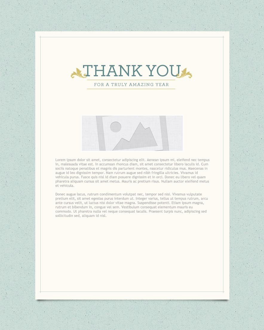 Thank You Email Marketing Templates Thank You Email