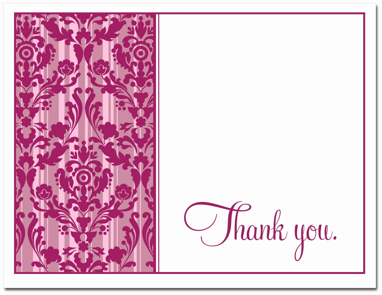 Thank You Notes for Free – ashlee Proffitt