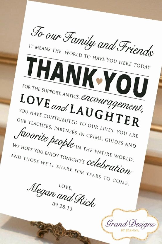 Thank You Notes for Wedding Best 25 Wedding Thank You