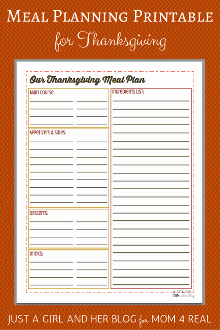 Thanksgiving List Templates – Happy Easter & Thanksgiving 2018