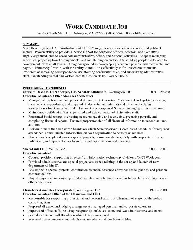 The 25 Best Administrative assistant Resume Ideas On