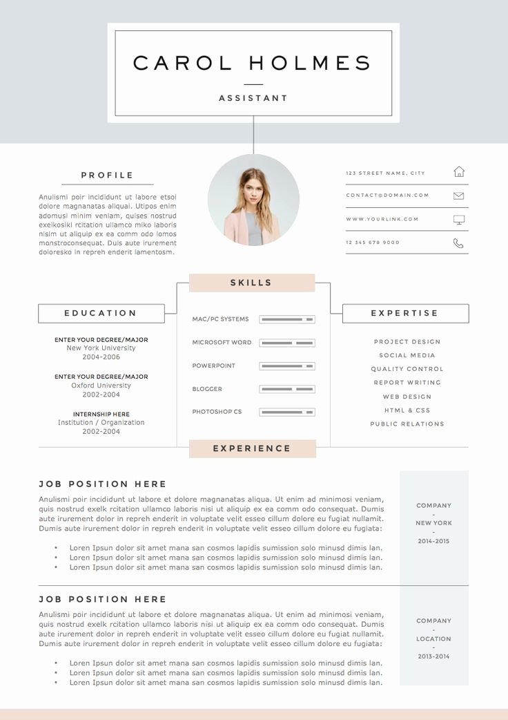 The 25 Best Resume Ideas Ideas On Pinterest