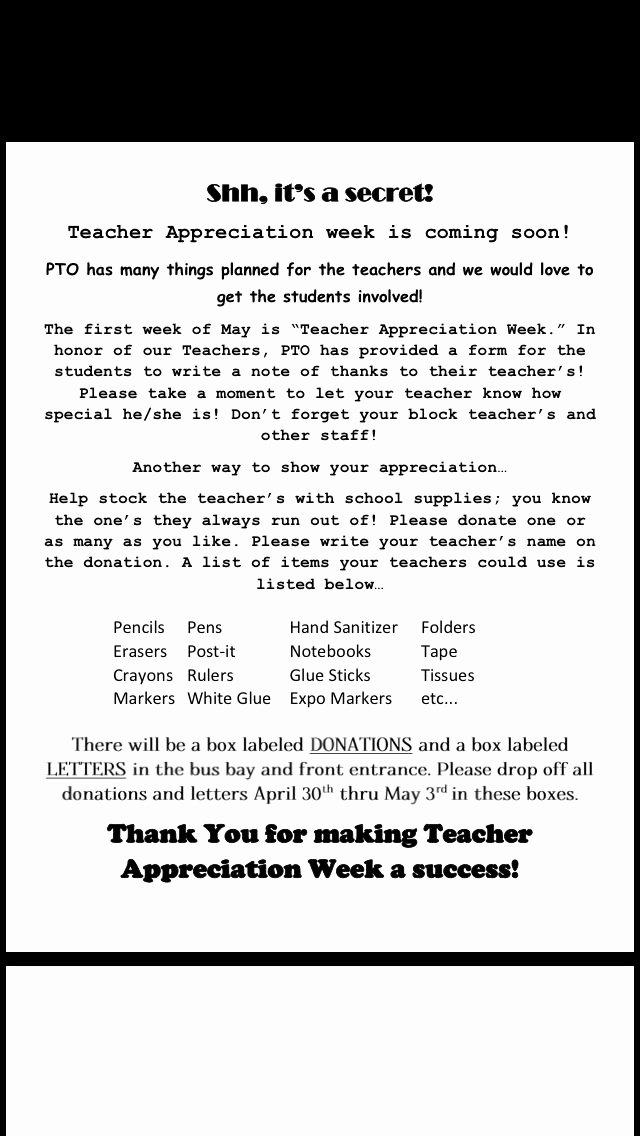 The 25 Best Teacher Appreciation Letter Ideas On