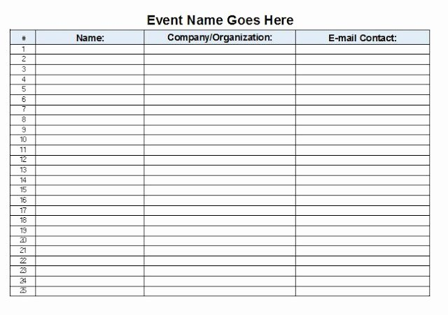 The Admin Bitch Download Free event Sign In Sheet