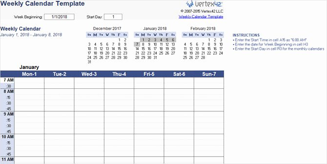 The Best Free Microsoft Fice Calendar Templates for the