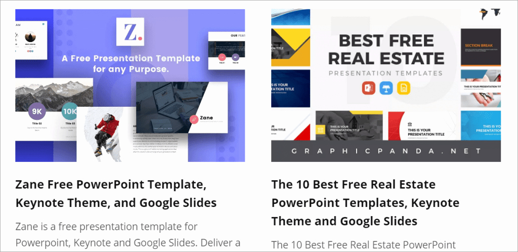 The Best Free Powerpoint Presentation Templates You Will