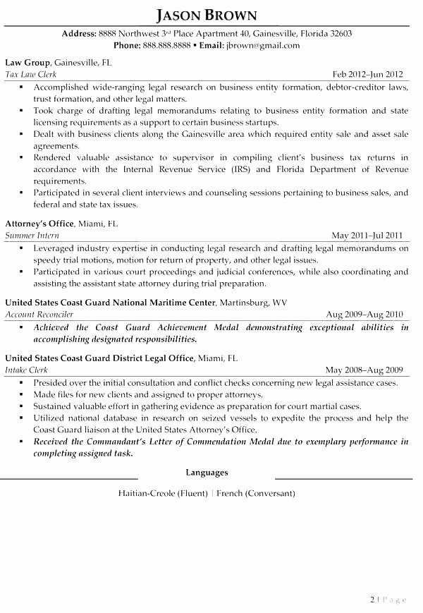 The Best Resume Samples How to Write A Entry Level Resume