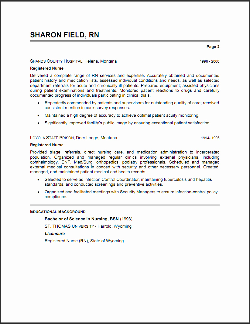 The Best Resume Summary Statements – Perfect Resume format
