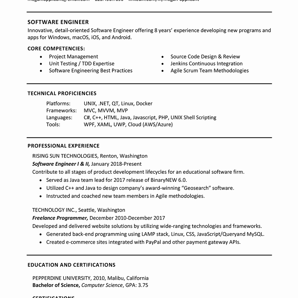 The Best Skills to Include On A Resume