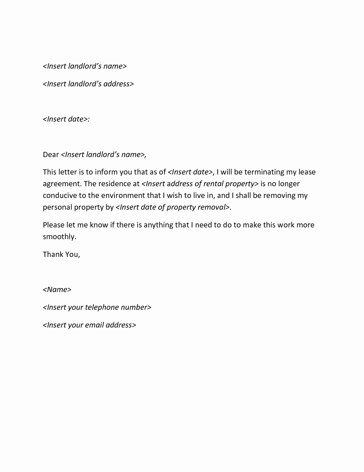 The Best Termination Letter Examples to Inspire You