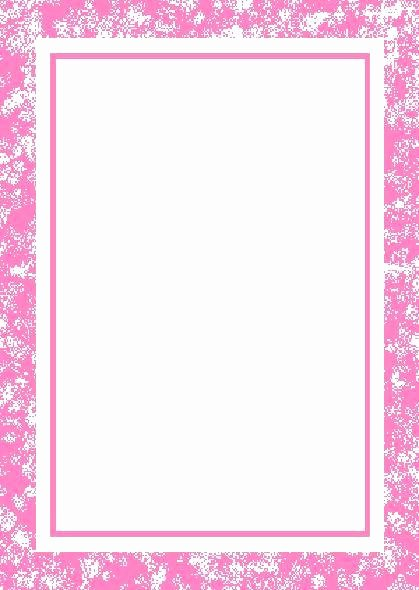 The Gallery for Blank Baby Girl Shower Invitations