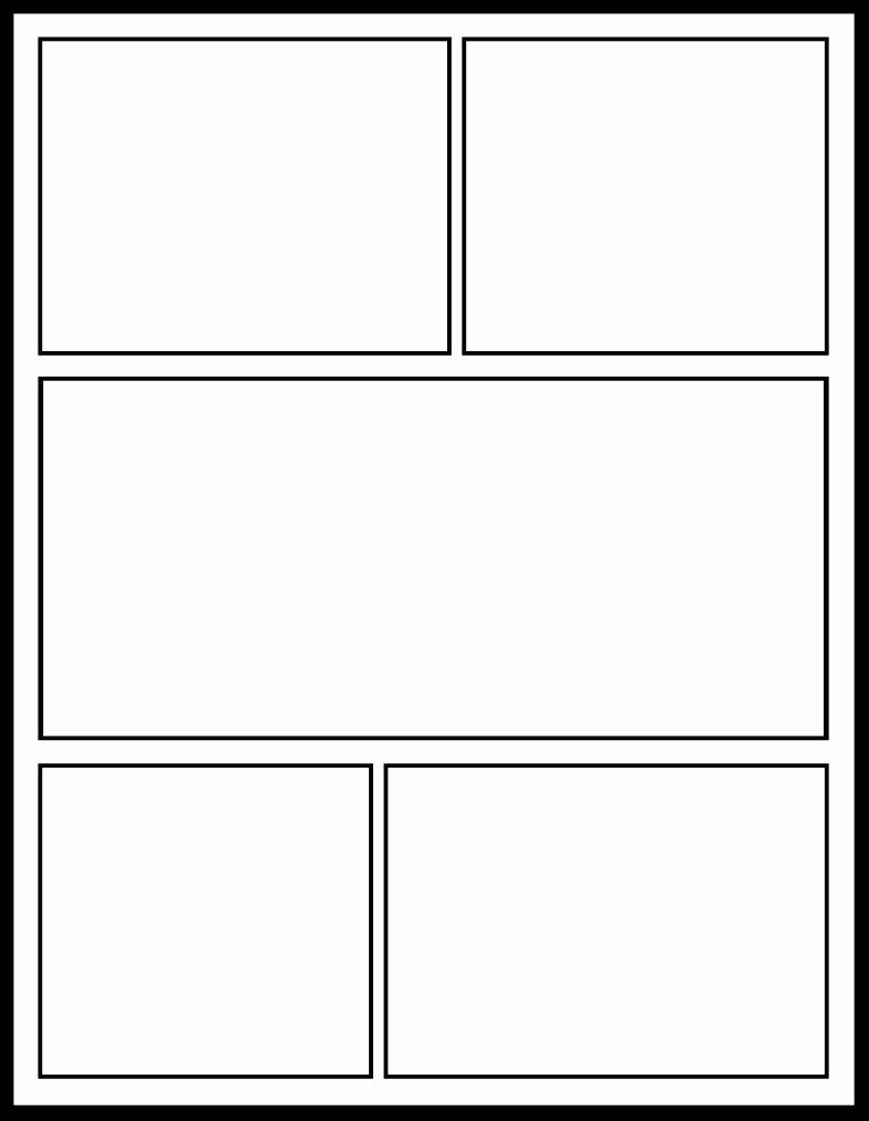 The Gallery for Blank Cartoon Strip