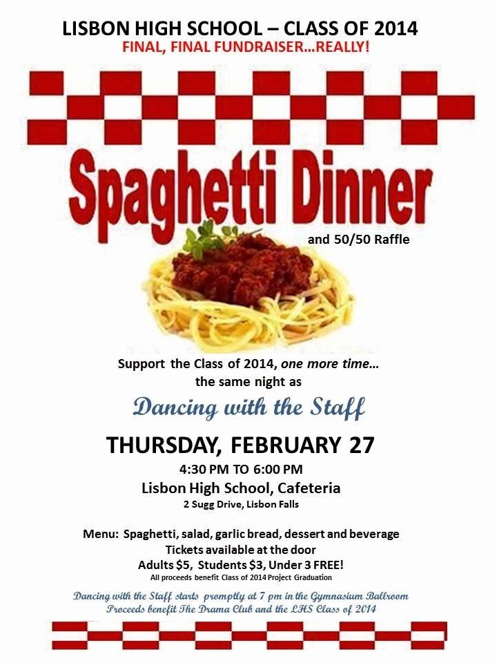 The Gallery for Spaghetti Dinner Fundraiser Ticket