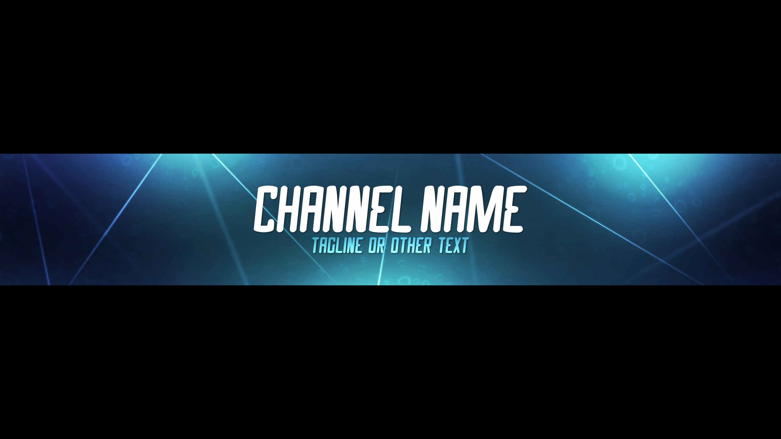The Gallery for Youtube Channel Art 2560x1440