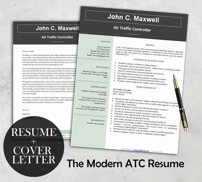The Modern atc Resume Template