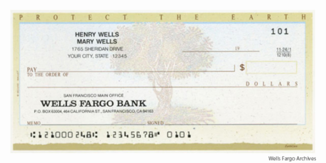 The Routing Number and Wells Fargo Pany