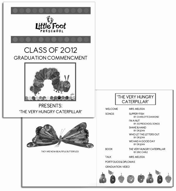 The Very Hungry Caterpillar Preschool Graduation