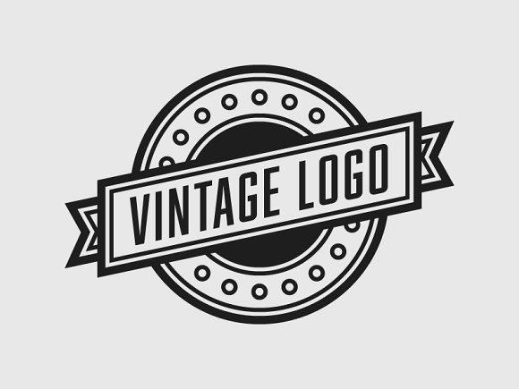 The Vintage Logo Template Psd Logo Templates Creative