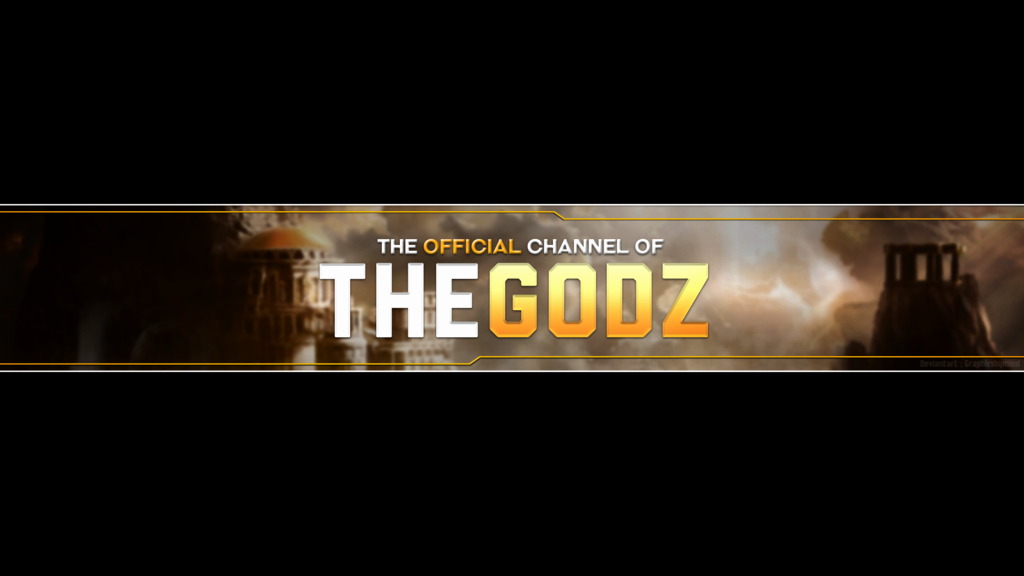Thegodz Youtube Banner Template by Allisonargenthf On