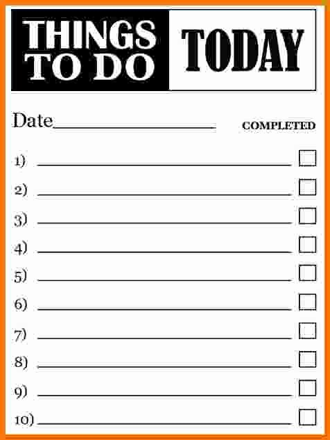 Things to Do Template Choice Image Template Design Ideas