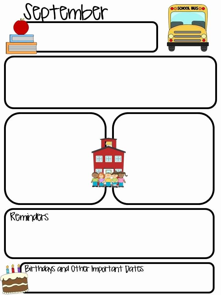 Thrifty In Third Grade Class Monthly Newsletter