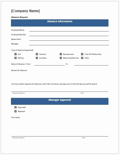 Time F Request form Template Ms Word