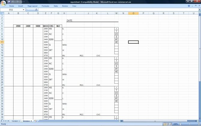 Time Management Spreadsheet Matrix Template Free Excel