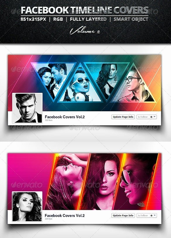 Timeline Cover Templates Free & Premium