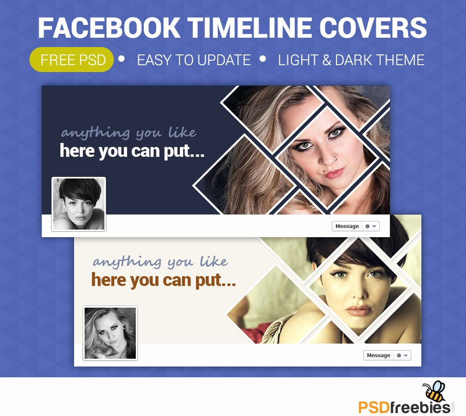 Timeline Covers Free Psd