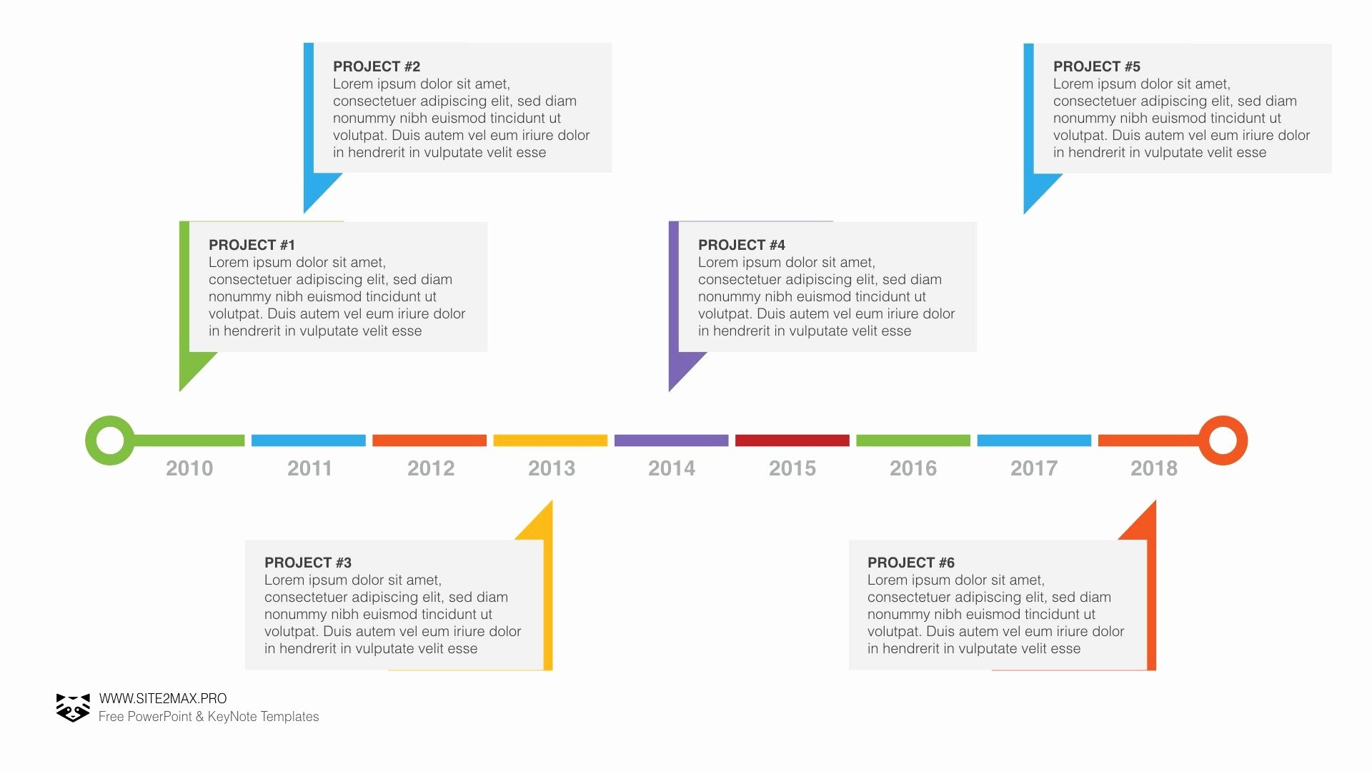 Timeline Plan Ppt Powerpoint Pinterest