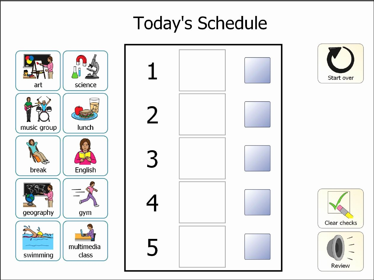Tips for Using Boardmaker Studio with Students with Autism