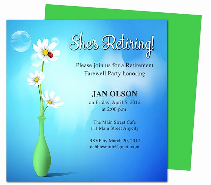 Tips How to Create Appealing Retirement Party Invitations