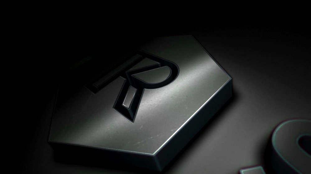 Titanium 3d Logo Reveal after Effects Template