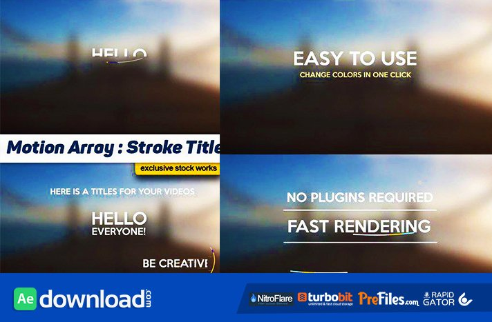 Titles Archives Page 87 Of 93 Free after Effects