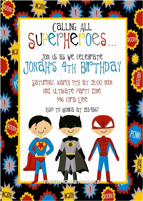 Too Stinkin Cute Super Hero Party Idea
