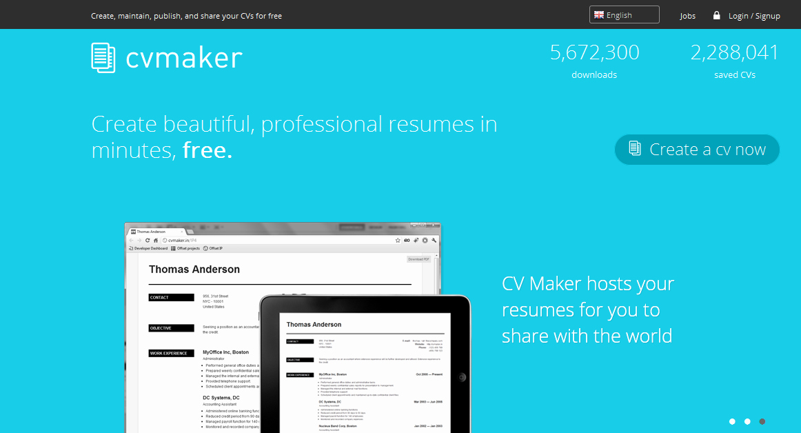 Top 10 Best and Free Line Resume Builder Websites Cv
