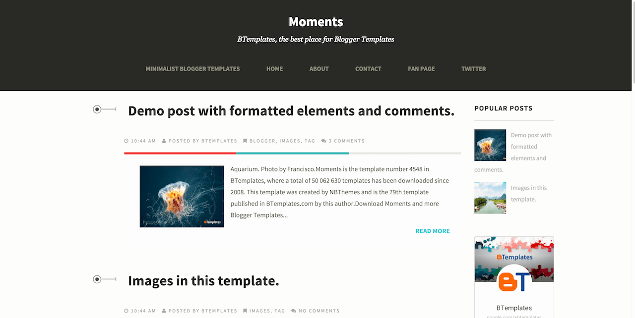 Top 10 Best Free Responsive Blogger Templates